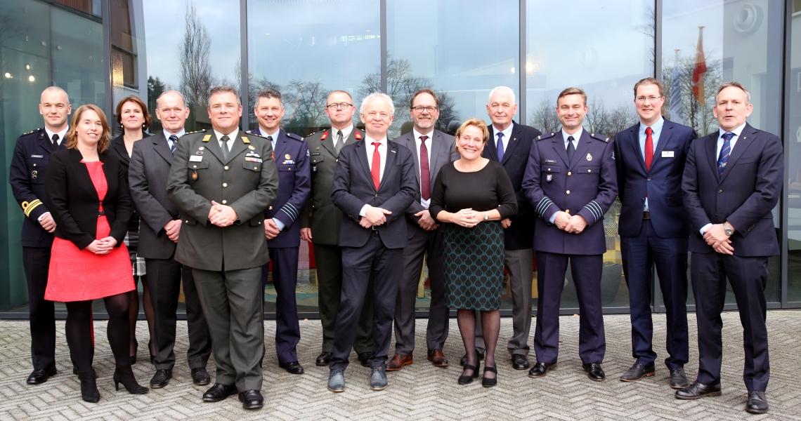 Minister van Defensie Ank Bijleveld bezoekt Doorn